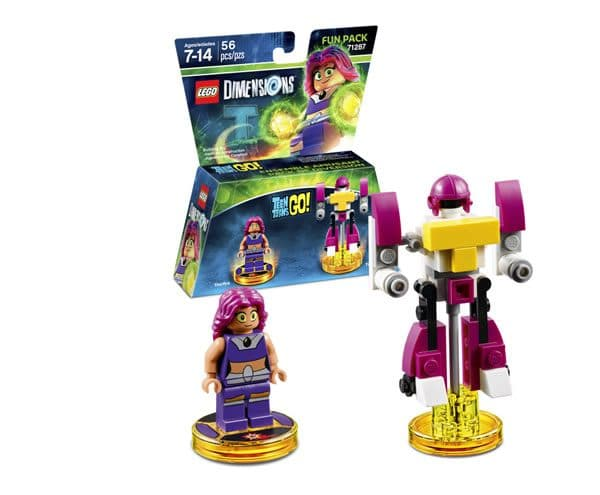 71287 LEGO Dimensions Teen Titans GO! Fun Pack