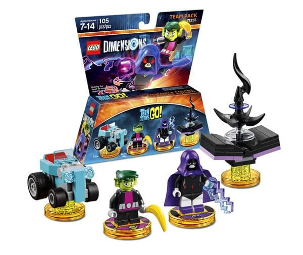 71255 LEGO Dimensions Teen Titans GO! Team Pack