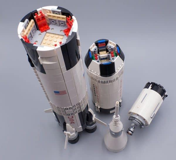 LEGO Ideas 21309 NASA Apollo Saturn V
