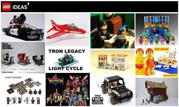 LEGO Ideas : 11 nouveaux projets sont dans la course