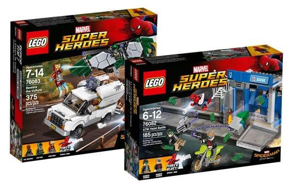 Nouveautés LEGO Spider-Man Homecoming : les visuels officiels sont disponibles