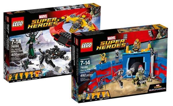 Nouveautés LEGO Thor Ragnarok : les visuels officiels sont disponibles