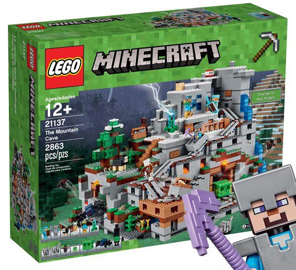 LEGO Minecraft 21137 The Mountain Cave : Tout ce qu'il faut savoir