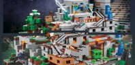 LEGO Minecraft 21137 The Mountain Cave : fin du teasing, le set dévoilé au complet