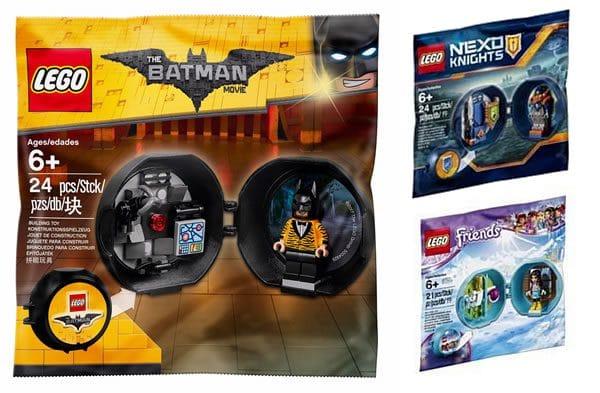 "Polybags avec ""Pods"" LEGO : versions Nexo Knights et Friends en approche"