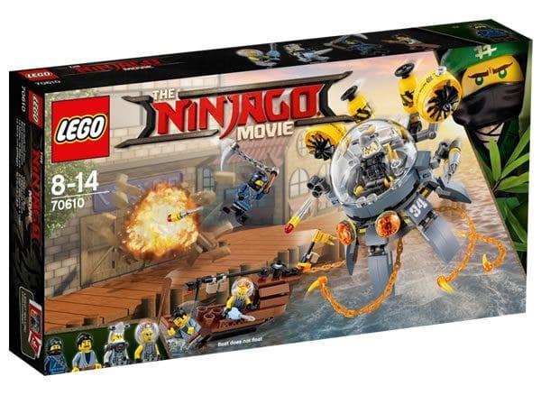 The LEGO Ninjago Movie (70610 Flying Jelly Sub)