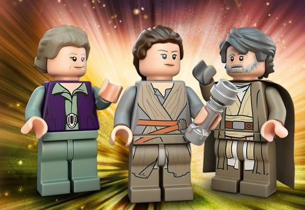 LEGO Star Wars : premier visuel de la minifig 2017 de Luke Skywalker ?
