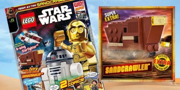 LEGO Star Wars Magazine : Un Sandcrawler avec le numéro de juillet 2017
