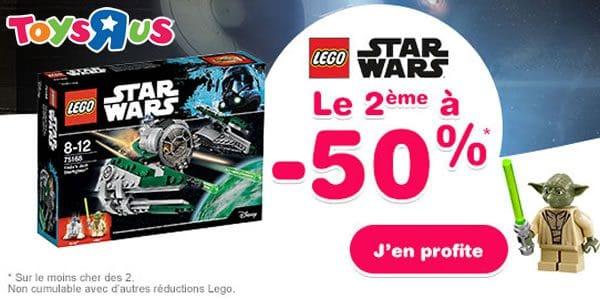Promos : Le 2ème set à -50% chez Toys R Us et Cultura