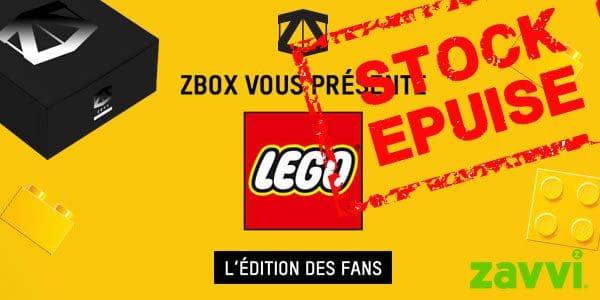 Chez Zavvi : Box mystère en partenariat avec LEGO