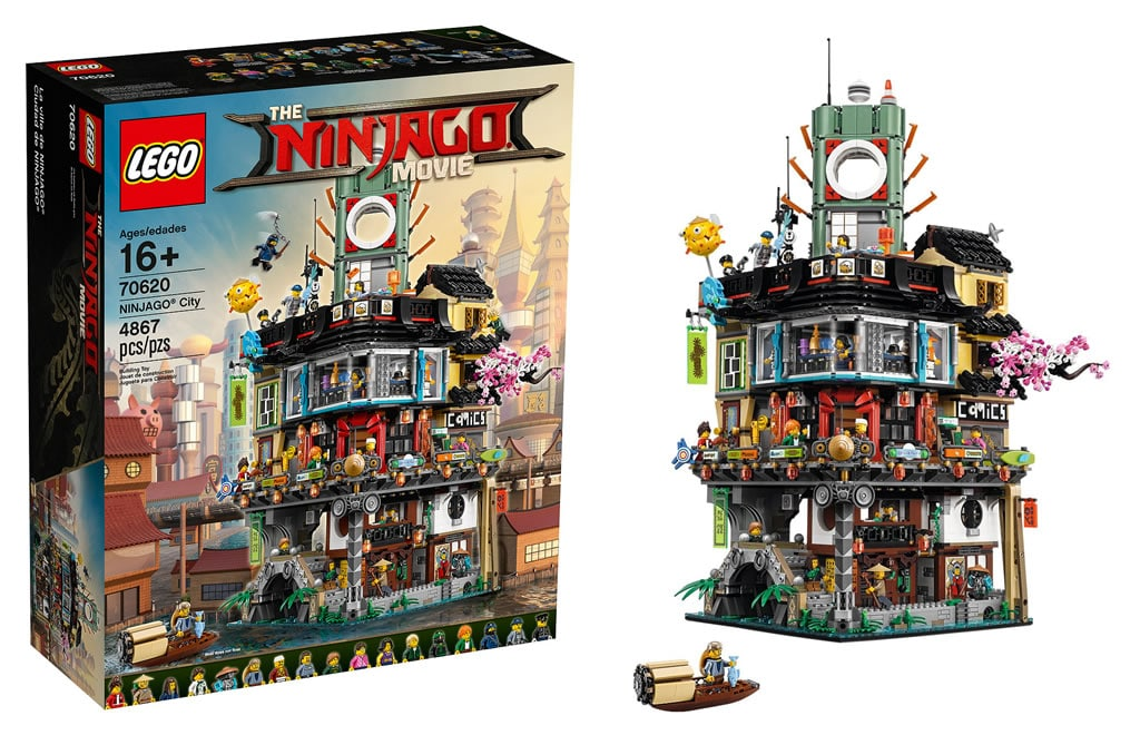 the lego ninjago movie le tr s gros set 70620 ninjago city d voil hoth bricks. Black Bedroom Furniture Sets. Home Design Ideas