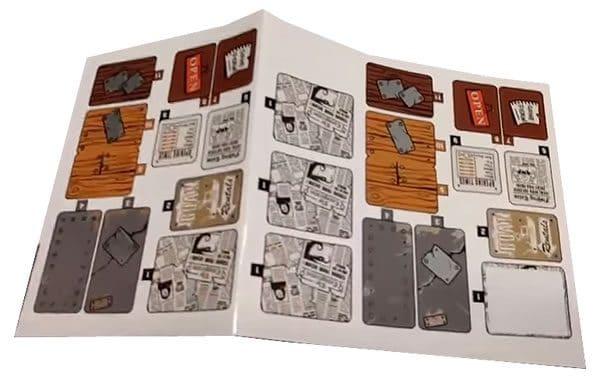 LEGO Ideas 21310 Old Fishing Store (Sticker sheet)