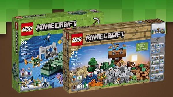 LEGO Minecraft : visuels officiels des sets du second semestre 2017