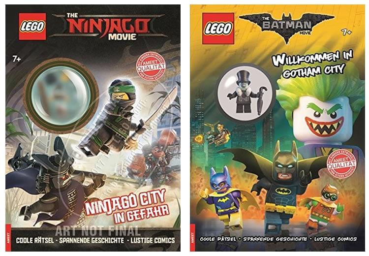 A Paraitre Quelques Nouveaux Livres D Activites Lego