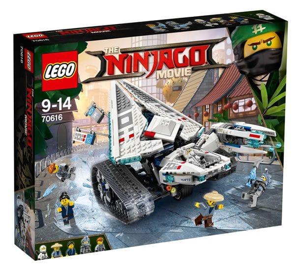 the lego ninjago movie gros plan sur le set 70616 ice. Black Bedroom Furniture Sets. Home Design Ideas