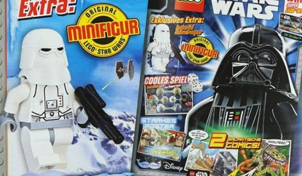 LEGO Star Wars Magazine : Un Snowtrooper avec le numéro d'août 2017