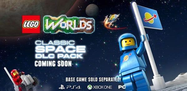 LEGO Worlds : Encore une louche de fan service avec un DLC Classic Space