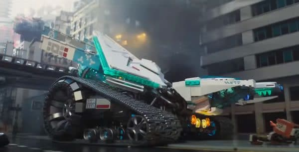 The LEGO Ninjago Movie : Ice Tank