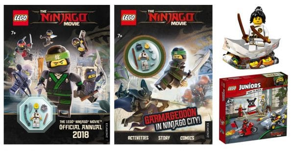The LEGO Ninjago Movie - Spinjitzu Training Minifigures