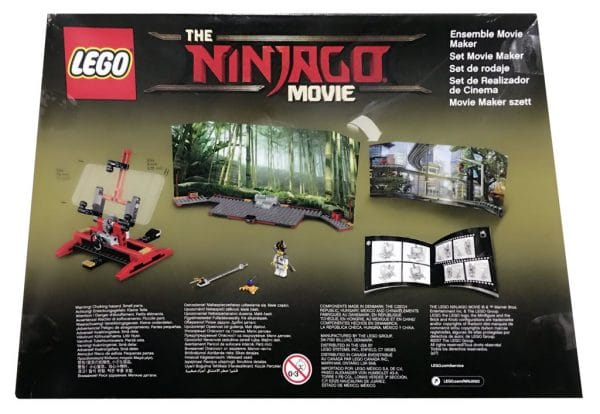 853702 The LEGO Ninjago Movie Maker Set