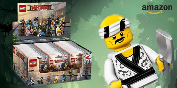 6175016 The LEGO Ninjago Movie Collectible Minifigures Series (Boite de 60 sachets)