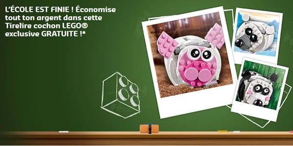 Sur le Shop@Home : Set LEGO 40251 Mini Piggy Bank offert dès 55 € d'achat