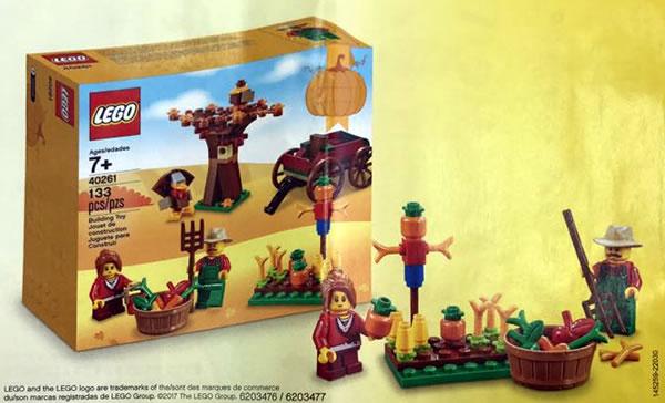 40261 LEGO Seasonal Set - Thanksgiving