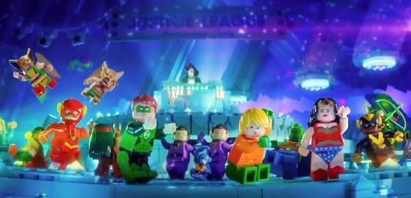 The LEGO Batman Movie Justice League Party