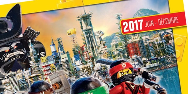 Catalogue LEGO officiel - Second semestre 2017