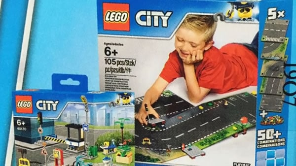 853656 LEGO City Playmat