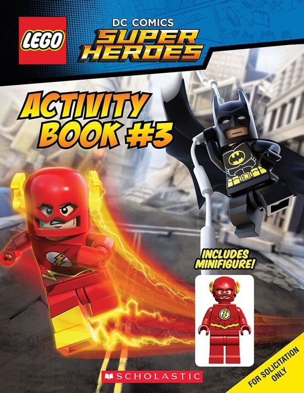 LEGO DC Comics Super Heroes Activity Book with The Flash Minifigure