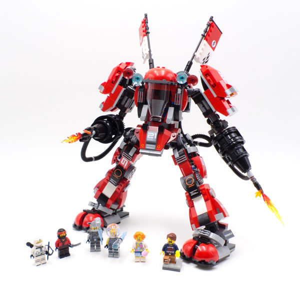 The LEGO Ninjago Movie 70615 Fire Mech