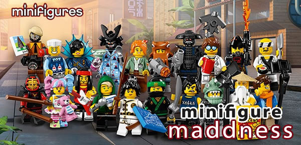 Promo sur les séries 17 et The LEGO Ninjago Movie chez Minifigure Maddness