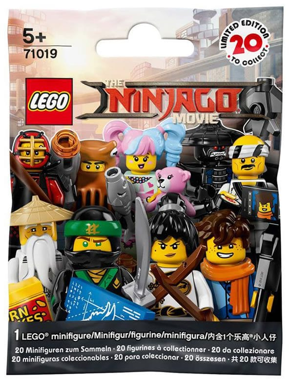 71019 The LEGO Ninjago Movie Collectible Minifigures Series