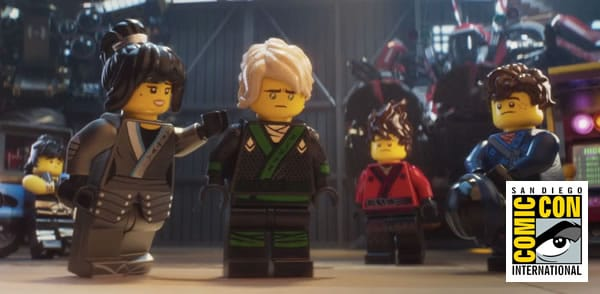 "SDCC 2017 : Un produit ""exclusif"" The LEGO Ninjago Movie offert durant le panel sur le film"