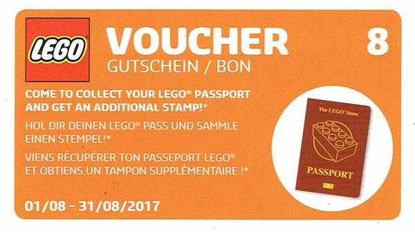 LEGO Stores : Un passeport LEGO offert