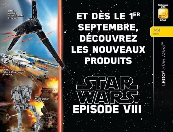 LEGO Star Wars Force Friday 2017
