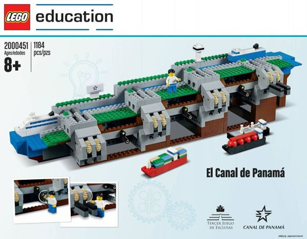 LEGO Education 2000451 El Canal de Panamá