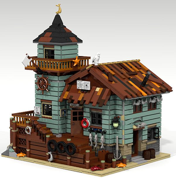 21310 old fishing store ideas project