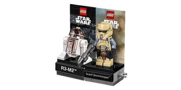 LEGO Star Wars 40268 R3-M2 & 40176 Scarif Stormtrooper