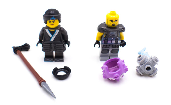 The LEGO Ninjago Movie 70611 Water Strider