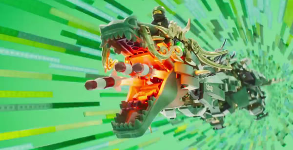 The LEGO Ninjago Movie 70612 Green Ninja Mech Dragon