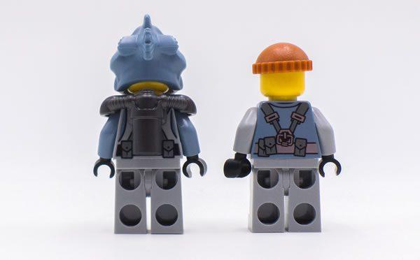 70616 ice tank lego ninjago movie bad back