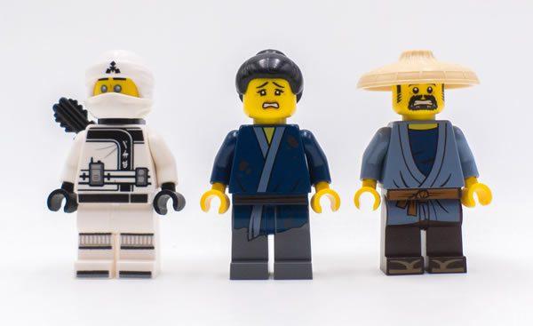 70616 ice tank lego ninjago movie minifigs