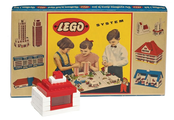 LEGO System Town Plan (1958)