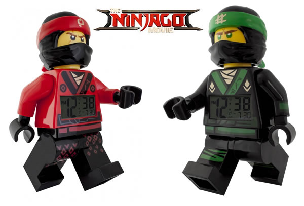 The LEGO Ninjago Movie - Kai & Lloyd LEGO Alarm Clocks