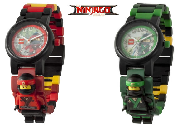 The LEGO Ninjago Movie - Kai & Lloyd LEGO Watches
