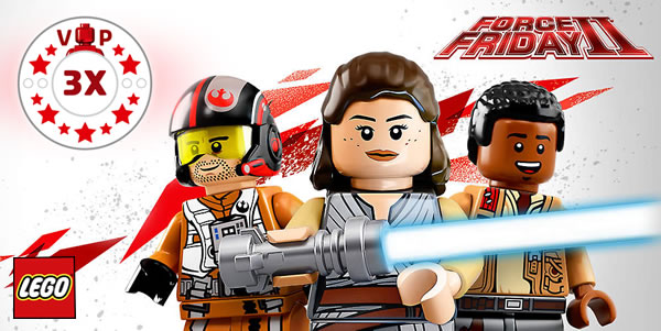 Star Wars Force Friday II chez LEGO : C'est parti !