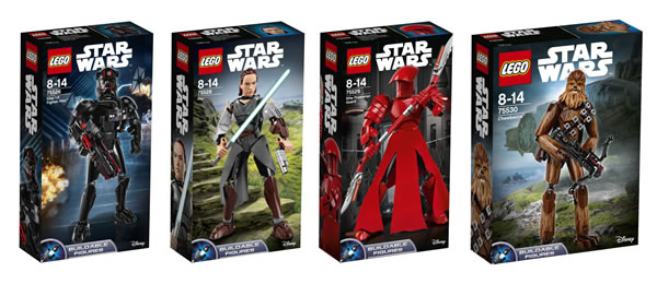 LEGO Star Wars The Last Jedi Buildable Figures
