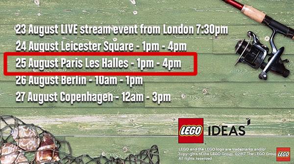 LEGO Ideas 21310 Old Fishing Store : Mise en vente anticipée dès le 25 août